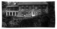 Gomez Mill House In Spring Beach Sheet by Jeff Severson