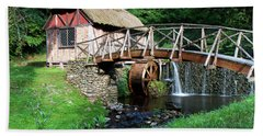 Gomez Mill In Summer #1 Beach Towel