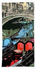 Gondolas Fresco  Beach Sheet