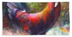 Gonzalez The Rooster Beach Towel