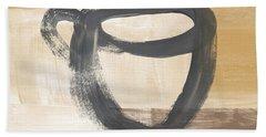 Good Days Start With Coffee- Art By Linda Woods Beach Towel