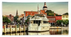Good Morning Annapolis Beach Towel