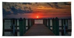 Good Morning Fort Myers Beach Towel