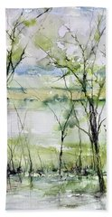 Good Morning On Da Bayou Faciane Beach Towel by Robin Miller-Bookhout