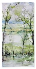 Good Morning On Da Bayou Faciane Beach Towel