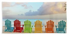Good Morning Paradise 0746 Signed Beach Towel