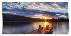 Good Morning Sun Beach Sheet
