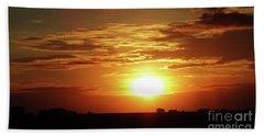 Good Morning Sun  Beach Sheet by J L Zarek