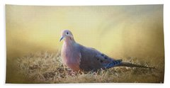 Good Mourning Dove Beach Towel