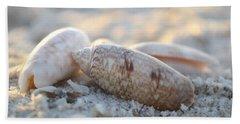 Good Things Come In Threes Beach Sheet by Melanie Moraga
