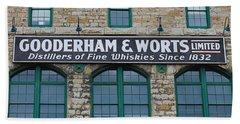 Gooderham And Worts Distillery Beach Towel
