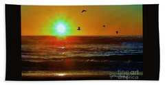 Goodnight Sun Beach Sheet