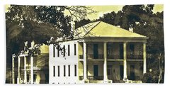 Goodwood Plantation Baton Rouge Circa 1852 Beach Towel