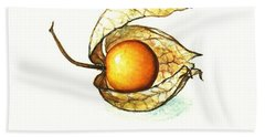 Beach Towel featuring the painting Gooseberry by Heidi Kriel