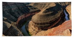 Goosenecks State Park Overlook Beach Towel