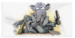 Gop Tied Up In A Knot Beach Sheet