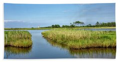Gordons Pond - Cape Henlopen Park - Delaware Beach Towel by Brendan Reals