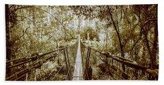 Gorge Swinging Bridges Beach Towel