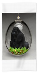 Gorilla Ape Art Beach Towel