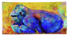 Gorilla Beach Towel