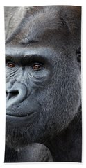 Gorillas In The Mist Beach Towel