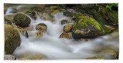 Goritsa Waterfalls Stream-bulgaria Beach Towel