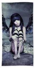 Goth Fairy Beach Sheet