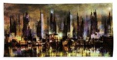 Gotham City IIi Beach Towel