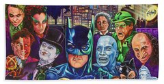 Gotham City Beach Towel