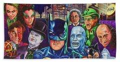 Gotham City Beach Sheet