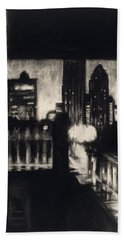 Gotham II Beach Towel