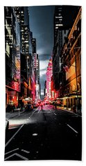 Beach Towel featuring the photograph Gotham  by Nicklas Gustafsson