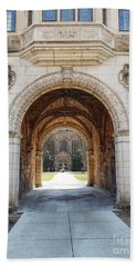 Gothic Archway Photography Beach Towel