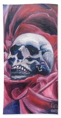 Beach Towel featuring the painting Gothic Romance by Isabella F Abbie Shores FRSA