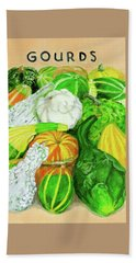 Gourd Seed Packet Beach Towel