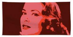Grace Kelly Pop Art Beach Towel by Dan Sproul