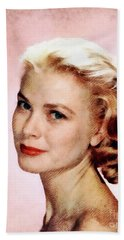 Grace Kelly, Vintage Actress Beach Towel