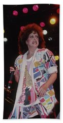 Grace Slick  Beach Towel