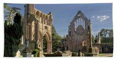 Graceful Ruins. Dryburgh Abbey. Beach Towel