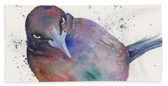 Grackula Beach Towel