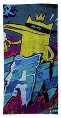 Graffiti_10 Beach Towel