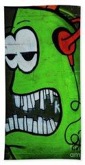 Graffiti_12 Beach Towel
