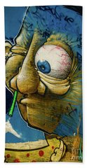 Graffiti_14 Beach Towel