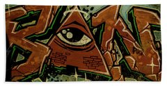 Graffiti_17 Beach Towel