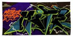 Graffiti_18 Beach Towel