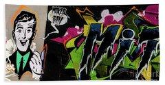 Graffiti_19 Beach Towel
