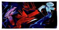 Graffiti_20 Beach Towel