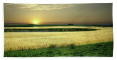 Grain Field Beach Towel