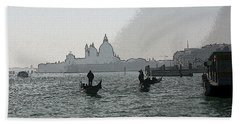 Grand Canal Beach Towel