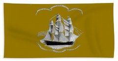 Beach Towel featuring the digital art Grand Canton by Asok Mukhopadhyay